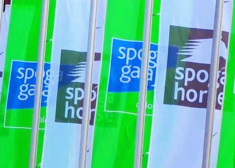Ja taas oltiin Spogan lippujen alla menossa tutkimaan uutuuksia