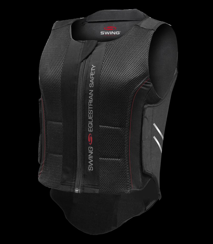 Ratsastuksessa käytetään turvaliiveja sekä selkäpanssareita. Molemmat turvavälineet vähentävät selkärankaan ja selän alueelle kohdistuvia iskuja ja vääntymisiä